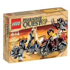 NEW - Lego 7306 Pharaoh's Quest Golden Staff Guardians - NEW