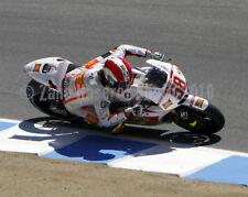 Marco Simoncelli 2010 MotoGP Honda Laguna Seca 8x10