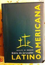 Biblia de Jerusalén Latinoamericana letra chica DESCLEE DE BROUWER wplasticcover