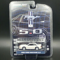 GREENLIGHT 27970 E 25 YEARS ANNIVERSARY SERIES 1989 FORD MUSTANG 5.0 1/64 WHITE