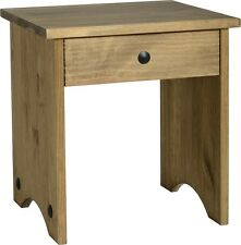 Seconique CORONA Distressed Mexican Pine 4 Drawer Dressing Table With Stool