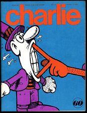 CHARLIE MENSUEL  N°60   JANVIER 1974   Parfait état