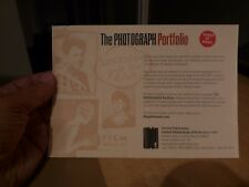 THE BEATLES - RINGO STARR - THE PHOTOGRAPH - PROMO ADVERT DOUBLE SIDED HAND-OUT