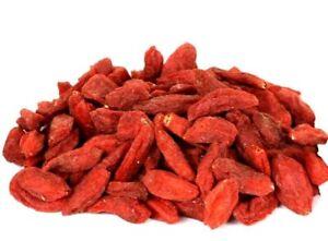 Raw Goji Berry   Super Food   Goji Berries  dried - Go Whole Foods  (Free P&P)