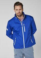 Helly Hansen Crew Midlayer Fleece Lined Waterproof Jacket 30253/563 Olympian Blu
