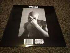 Frank Ocean Blond Double Black Vinyl Promo Album