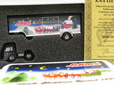 Schuco 01832 Piccolo MB Koffersattelzug Christmas Sp. 1999 Ltd.3000 OVP (y5499)