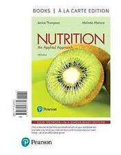 Nutrition: An Applied Approach, Books a la Carte Edition by Dr Melinda...
