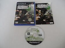 Tom Clancy's Ghost Recon (PAL) Playstation 2 PS2 PS3 Sony Complete OVP CIB