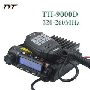 TYT TH-9000D 60W 220-260MHz Ham Vehicle Transceiver W/ Antenna/ Mag Mount
