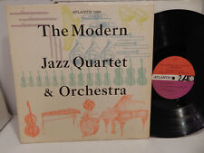 Modern Jazz Quartet & Orchestra 1961 Mono 1359 1P red plum label LP