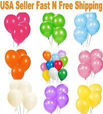 "12"" Latex Balloons 25/50/100/150 pcs  for Birthday Wedding Party decoration USA"
