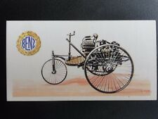 No.2 BENZ 3 WHEEL 1.7 LITRE History of the Motor Car by Brooke Bond 1968