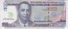 Philippines Banknote P213 100 Piso 2012 Commemorative,  Manila Hoter, UNC