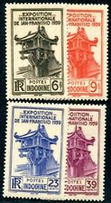 INDOCHINE 1934 Yvert 205-206 ** POSTFRISCH TADELLOS EXPO SAN FRANCISCO(F3702