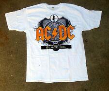 AC/DC Black Ice Logo White Tee Shirt Brand New Size Large T-shirt