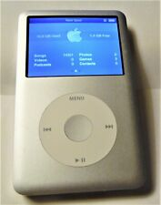 iPod Classic 6th Gen Silver 80 Gb Model: A1238 With 14,351 Songs Super Nice