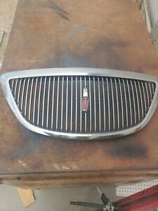 1997 1998 Lincoln Mark VIII chrome Grille good condition, one small defect