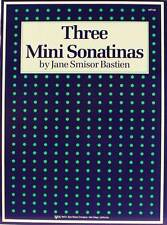 Three Mini Sonatinas Bastien