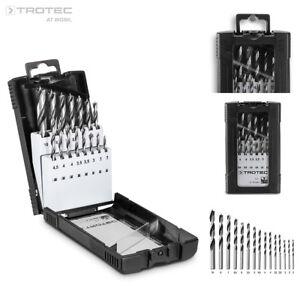 TROTEC Set de forets à bois (15 forets)