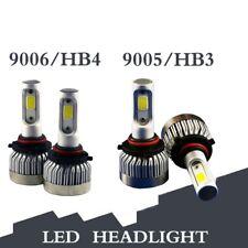 2 Pairs 9005 + 9006 LED Headlight Led Headbulb Kit Low Beam Light 120W 12000LM