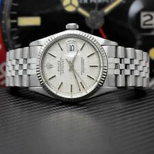 Rolex Datejust Stahl/Weißgold Automatik Ref: 16014 - Rolex Box von 1984