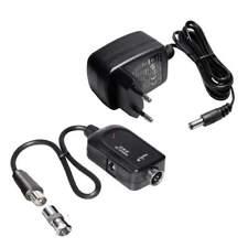 5 Volt Strom Versorgung Set für aktive DVB T2 - Antennen; Weiche mit Netzteil