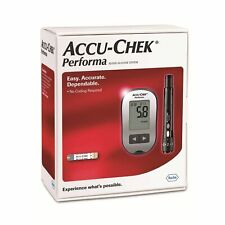 Accu-Chek Performa Glucometer For Blood Glucose Measurement With 10 Test Strips