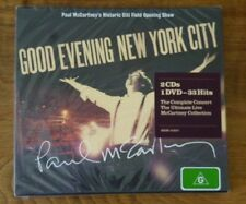 Good Evening New York City - Deluxe [2CD + DVD] Paul McCartney BRAND NEW/SEALED