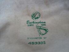 Buckingham # 45333S Miscellaneous Tool Bag