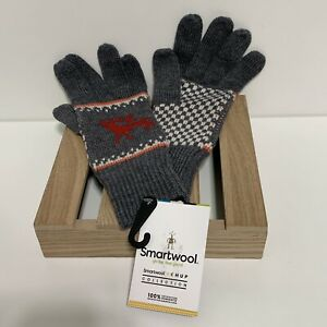 Smartwool x Chup Collection Women's Gloves M Kaamos Gray Heather New