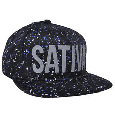 Dope Couture Rare Spaced Out 3M Paint Speckle Sativa Weed 420 Plant Snapback Hat