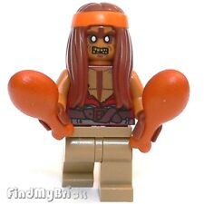 M721 Lego Halloween Custom Zombie Hippie Fillmore Minifigure NEW