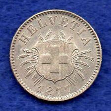 More details for switzerland, 1877 5 rappen, scarce & choice grade (ref. c6938)