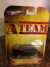 HOT WHEELS RETRO ENTERTAINMENT THE A TEAM CUSTOM GMC PANEL VAN - NEW-