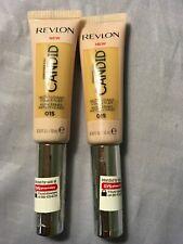 2 New Revlon Photoready Candid Antioxidant Liquid Concealer #015 Light Pale