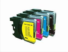 SET DE x4 compatibles GENERICO IMP LC1100 LC980 LC-1100 LC-980 HQ