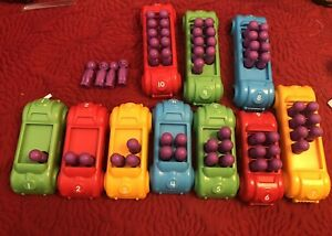 LAKESHORE COUNTING CARS COMPLETE SET PRE OWNED NICE