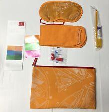 Emirates Airline Amenity Travel Kit Bag Expo 2020 Dubai Limited Edition- Orange