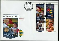 TOGO  2019  ROTARY IN TOGO SHEET FIRST DAY COVER