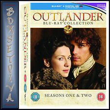 OUTLANDER - COMPLETE SEASONS 1 & 2 **BRAND NEW BLURAY REGION FREE **