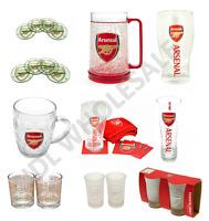 ARSENAL FC Pint Glass Shot Glass Whiskey Glass Tankard Coaster Gift