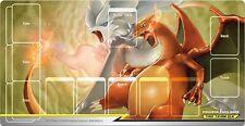 Pokemon Card Rubber Playmat Reshiram & Charizard Tag Team GX 58 x 30 cm Japanese