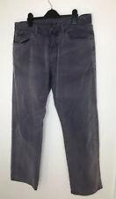 GANT label W34 L32 actual W32 L29 Jason Regular Fit Trousers Purple Cotton Chino