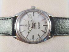 100% Vintage Henri-Sandoz 17J Hand-Winding Swiss Made Men's Wrist Watch#H543