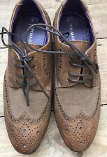 Tan Brown Smart Brogues Shoes - Men's/Older Boys - Primark - Size 6 EUR 40