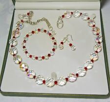 Handmade Vintage Beaded Jewellery Set