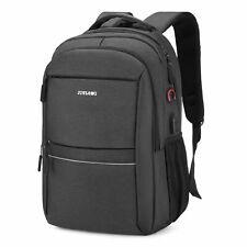 15.6 inch Laptop Backpack USB Waterproof Mens Women Travel School Shoulder Bag