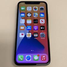 Apple iPhone X - 256GB - Silver (Unlocked) (Read Description) BH1103