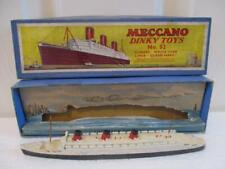 Vintage Boxed Dinky Toys No 52 Pre-War Star Liner Queen Mary No.52 Worth A Look